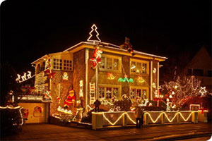 cristmass lights installations and removal